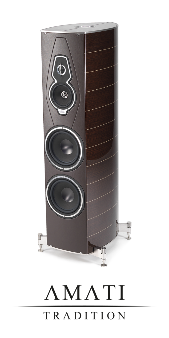 DLuxury Wooden Floor Standing Loudspeaker Amati Tradition, Sonus faber