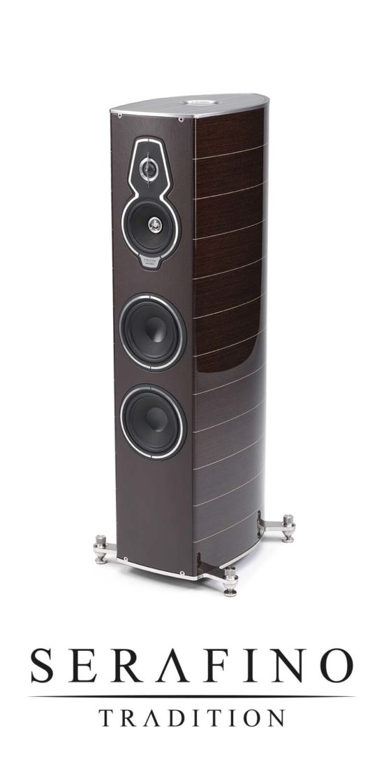 Luxury Floor Speaker With Maple Inlays Serafino Tradition, Sonus faber