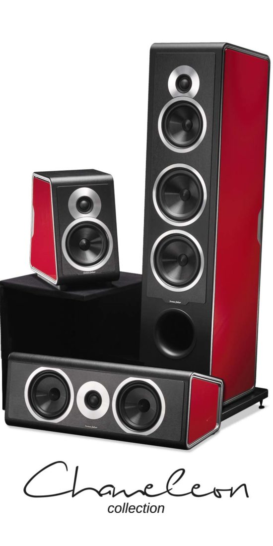 Diffusori per Home Theatre Chameleon Collection, Sonus faber