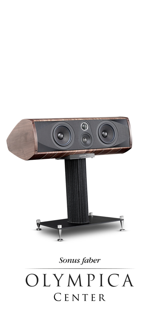 Professional 3 Way Central Speaker Olympica C, Sonus faber
