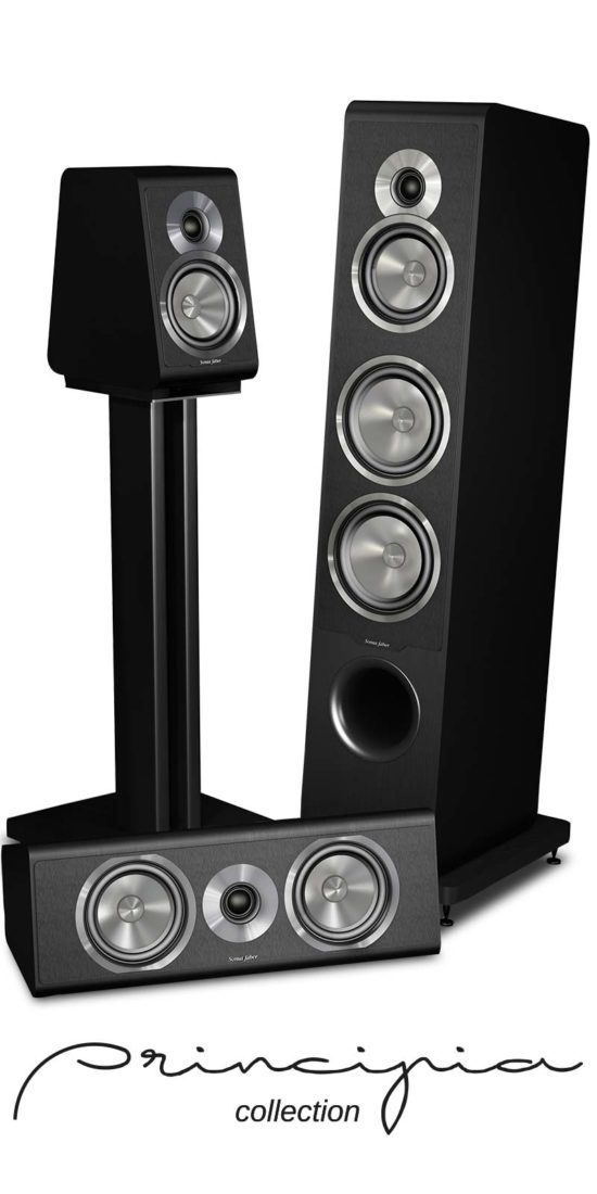 Diffusori Acustici Hi End Principia Collection, Sonus faber