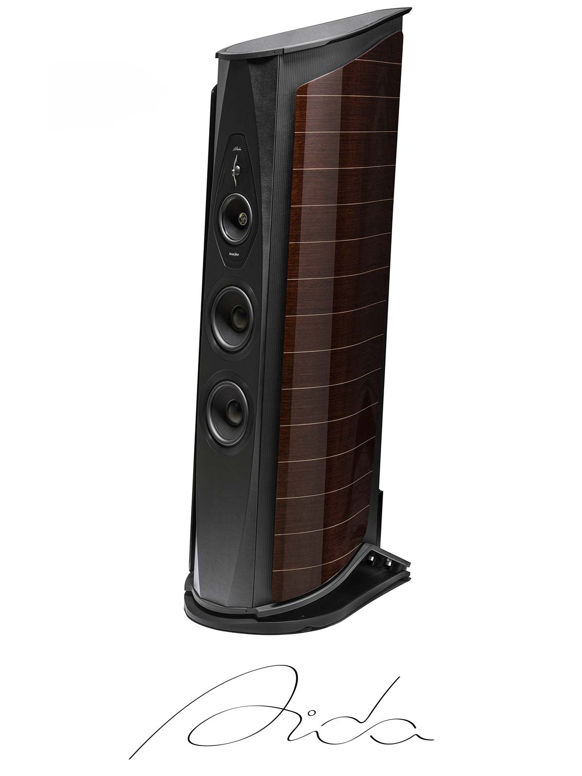 Aida high-efficiency speaker and professional fidelity