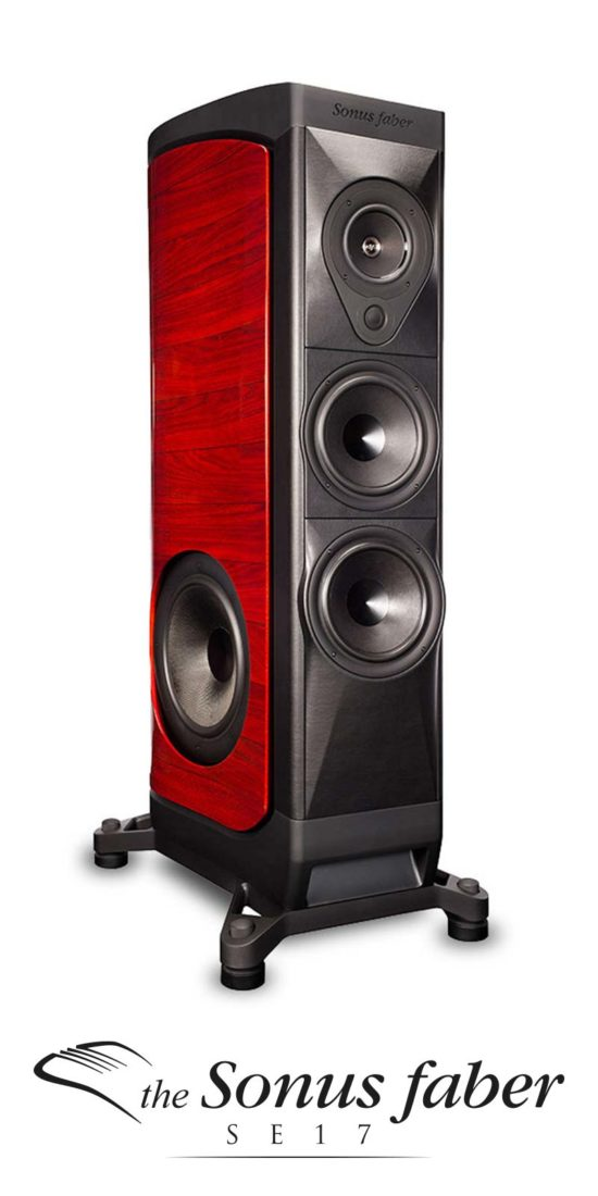 Speaker da Pavimento High End Edizione Limitata SE17, Sonus faber