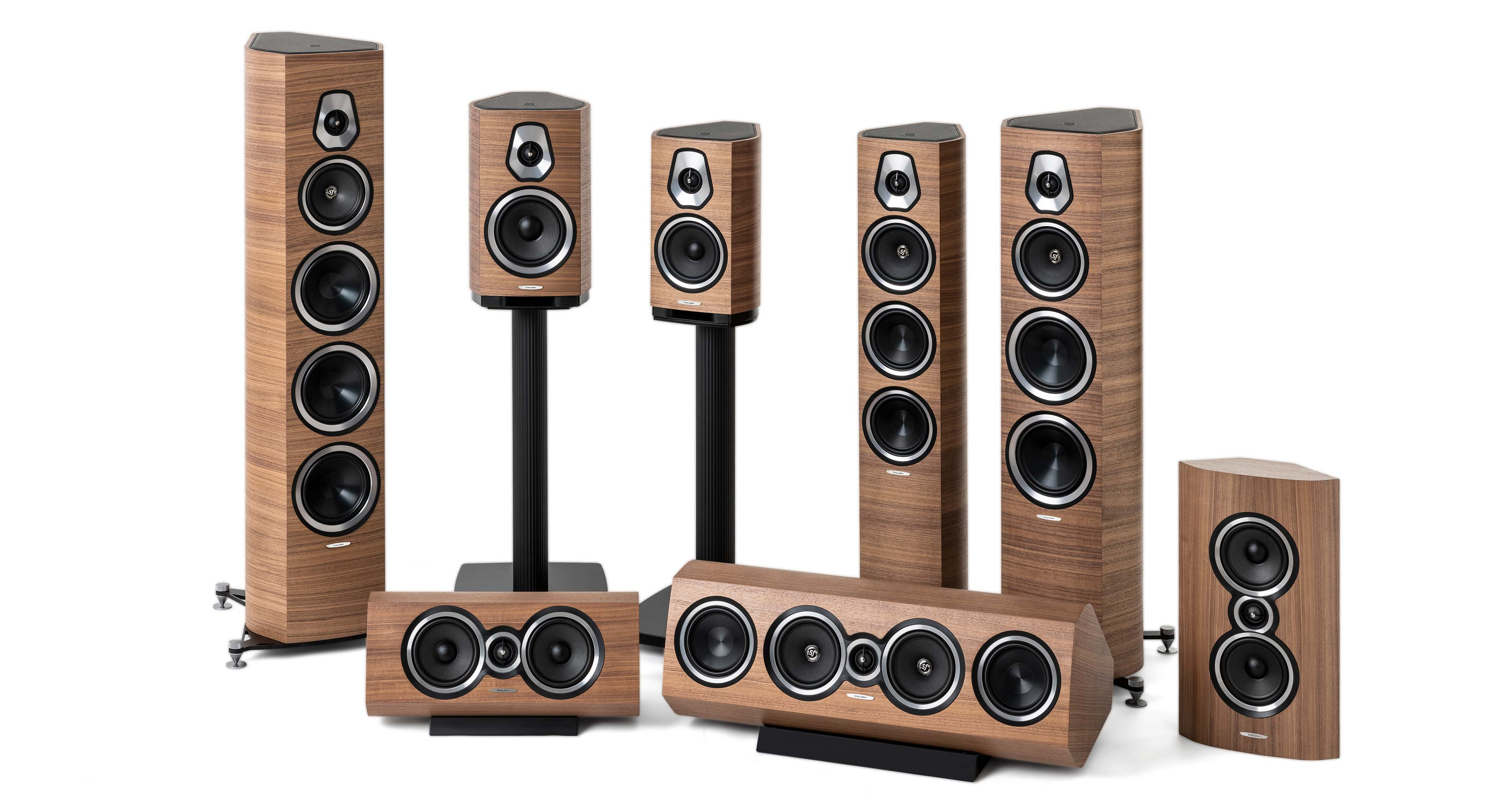 High quality loudspeakers produced in Italy by hand  Sonetto