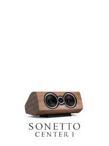 Luxury Center-Channel Speaker Sonetto Center, Sonus faber