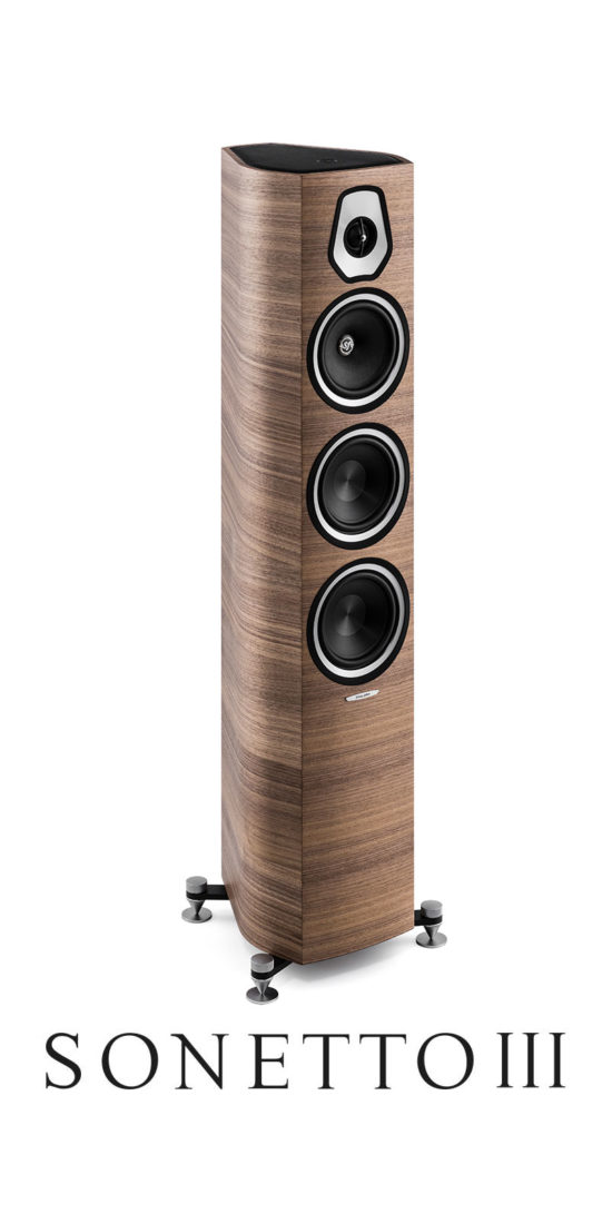 Diffusore Acustico da Pavimento Professionale Sonetto III, Sonus faber
