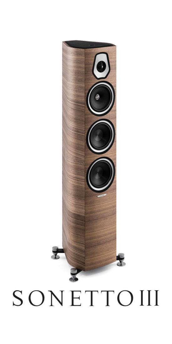 Luxury Professional Stand Loudspeaker Sonetto III , Sonus faber
