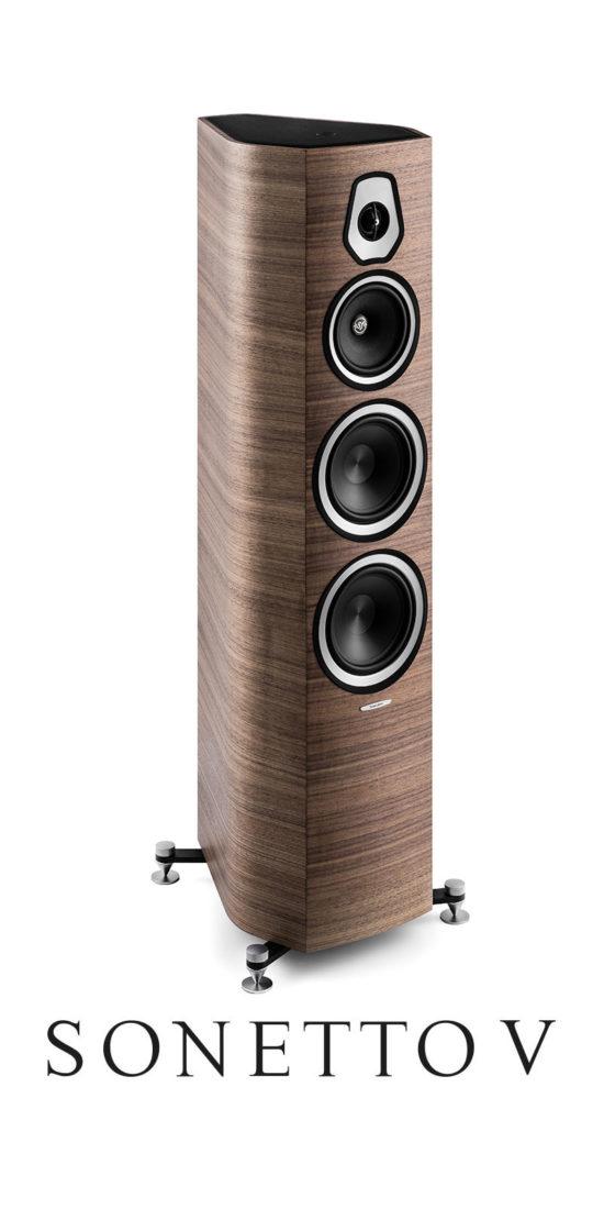 3-Way Stand Loudspeaker Sonetto V, Sonus faber