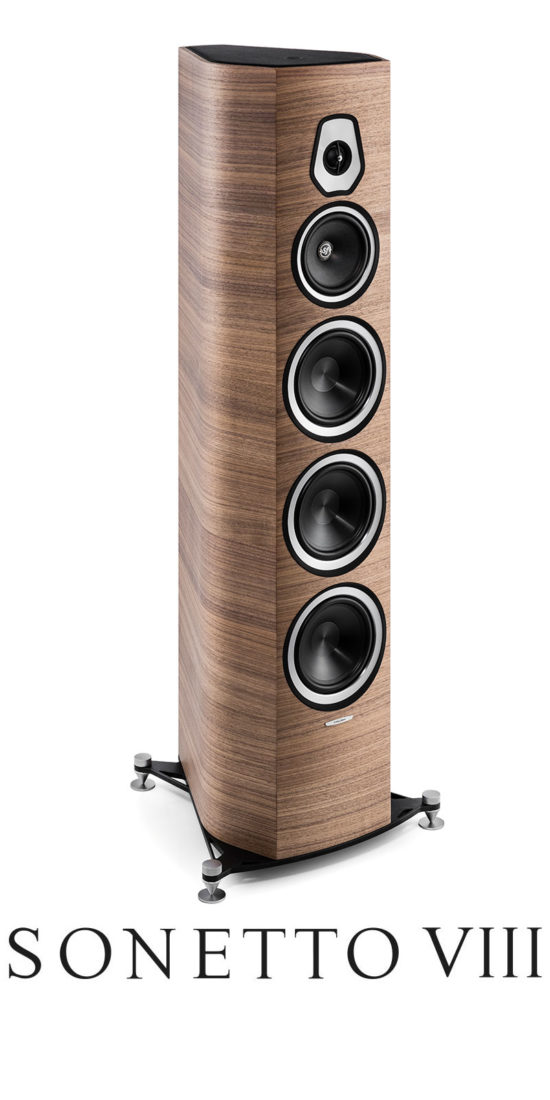 High End Floor Standing Speaker Sonus VIII, Sonus faber