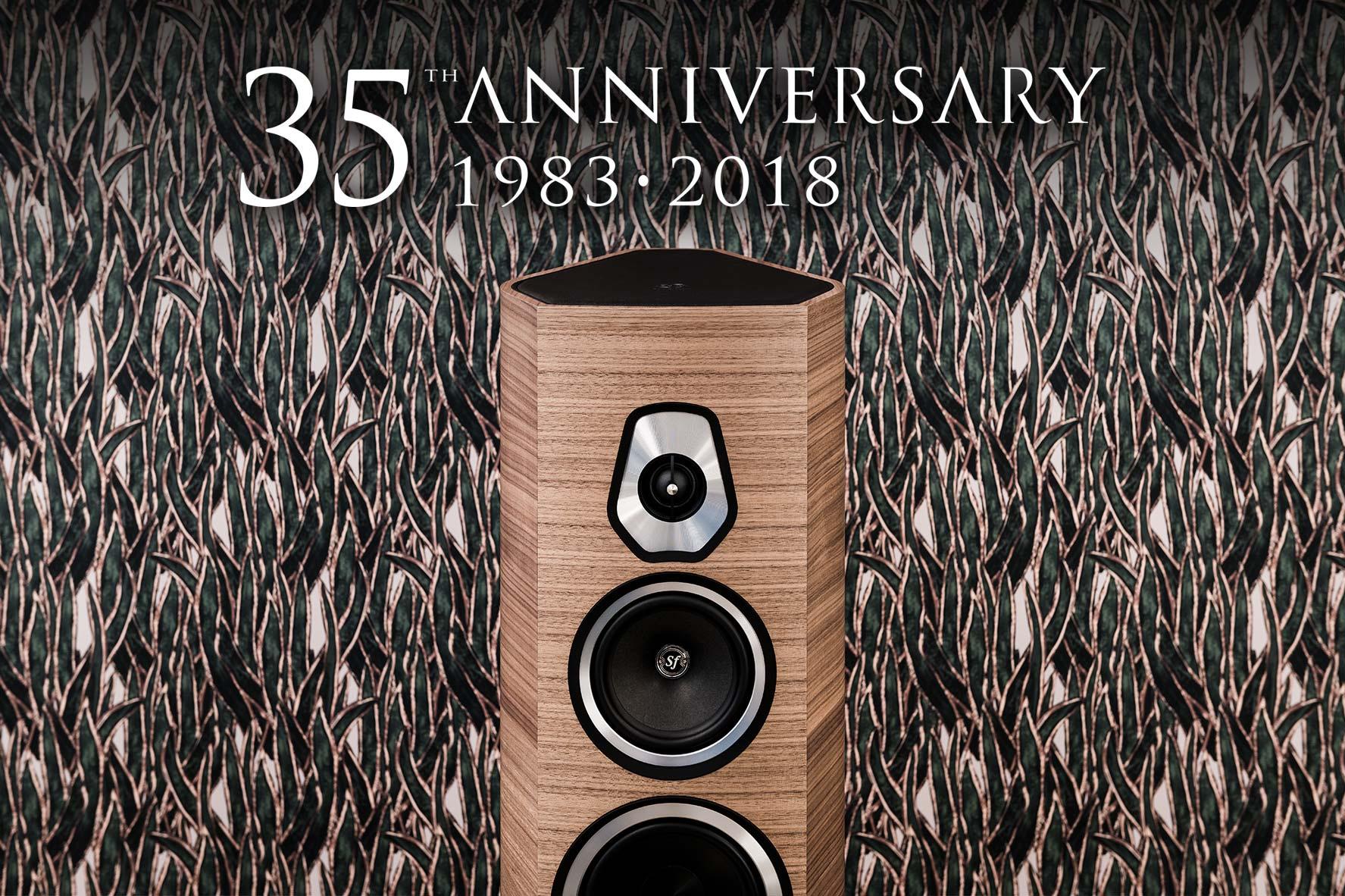35esimo anniversario sonus faber