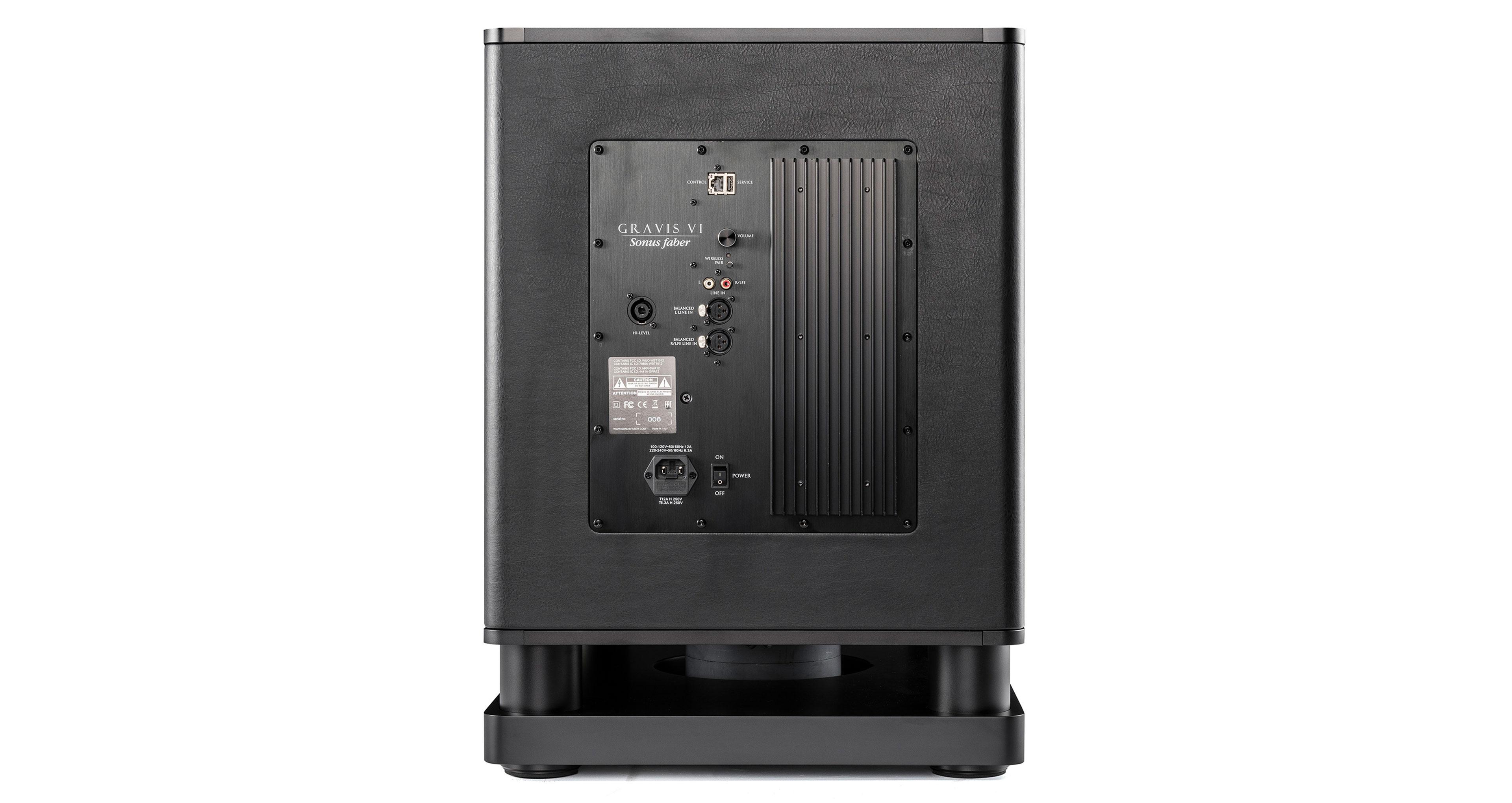 Hi-Fi loudspeakers and high efficiency Gravis V, VI