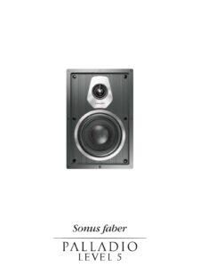 Built-in Custom Installation Speaker Level 5, Sonus faber