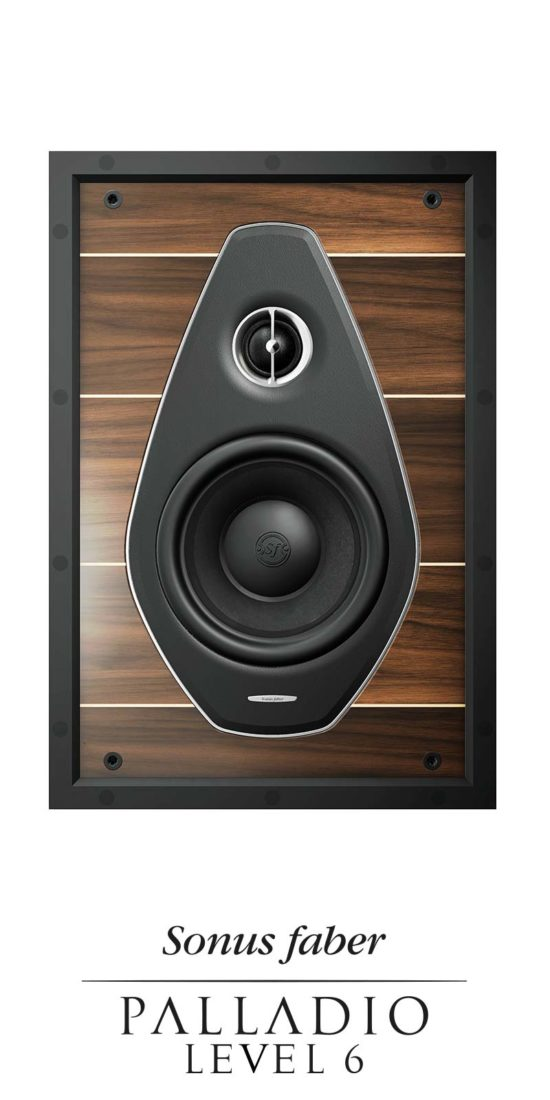 Diffusori da Incasso Lusso Custom Installation Level 6, Sonus faber