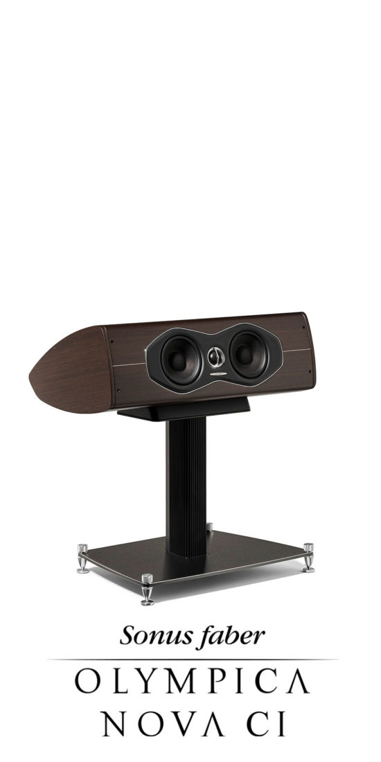 New Compact Center Channel Olympica Nova CI, Sonus faber