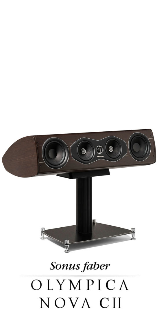 New Center Channel Olympica Nova CII, Sonus faber