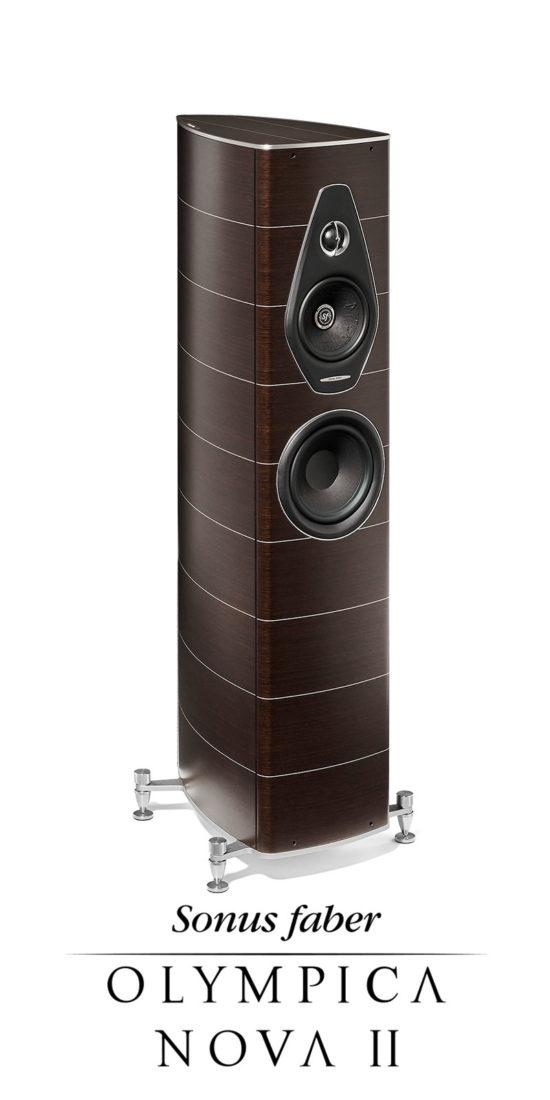 Nuovo compatto diffusore acustico a 3 canali Olympica Nova II