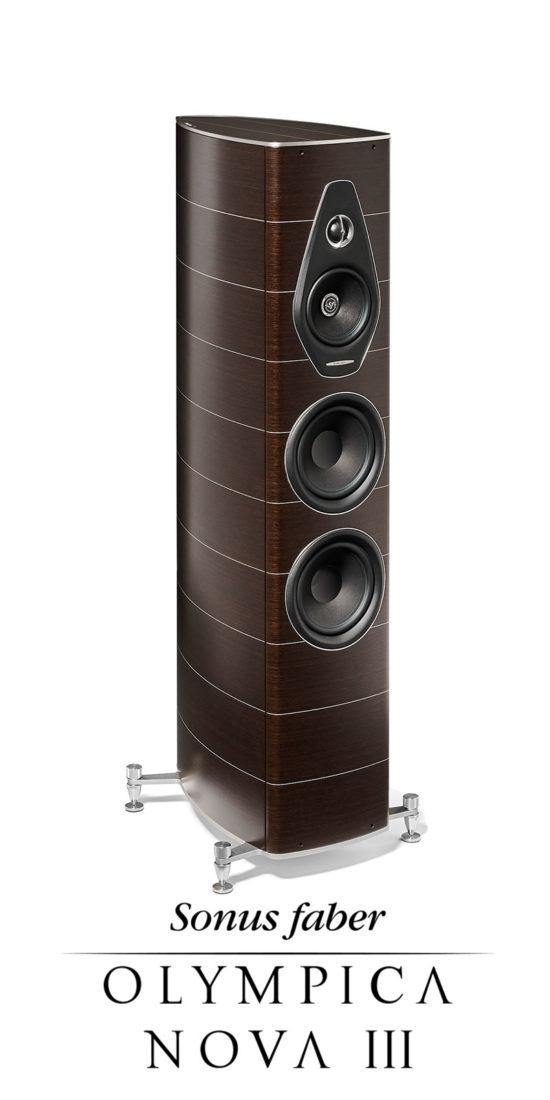 New luxury stand loudspeaker Olympica Nova III, Sonus faber