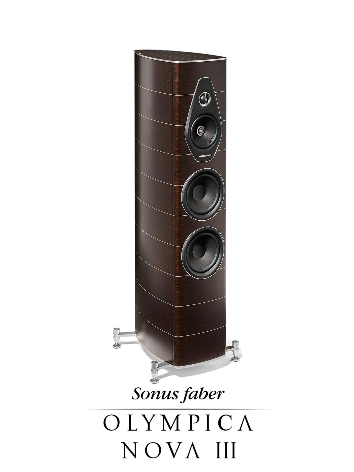 New Luxury Stand Loudspeaker Olympica Nova III | Sonus faber