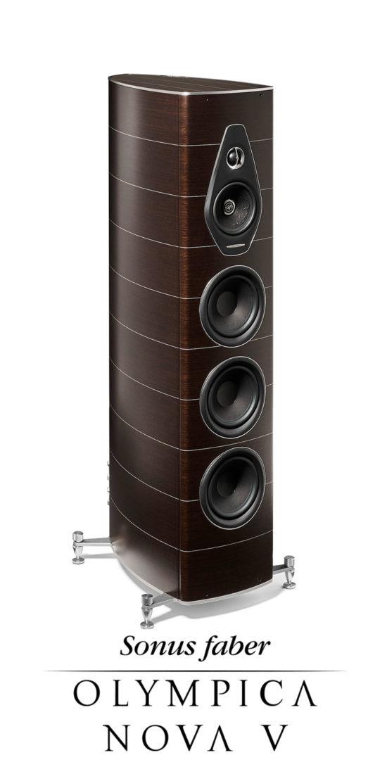 Nuovo diffusore acustico a 3 vie da pavimento Olympica Nova V, Sonus faber