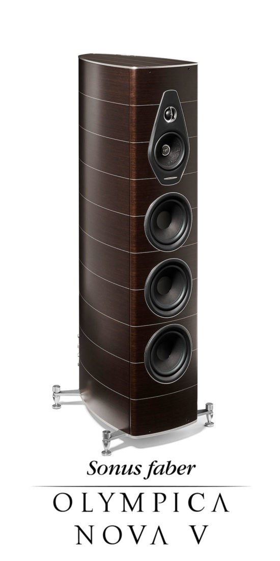New 3-way Stand Loudspeaker Olympica Nova V, Sonus faber