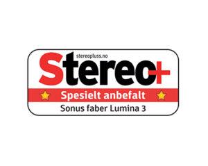 Stereo+, Lumina III Award