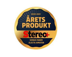 Electa Amator III - Stereo+ Award